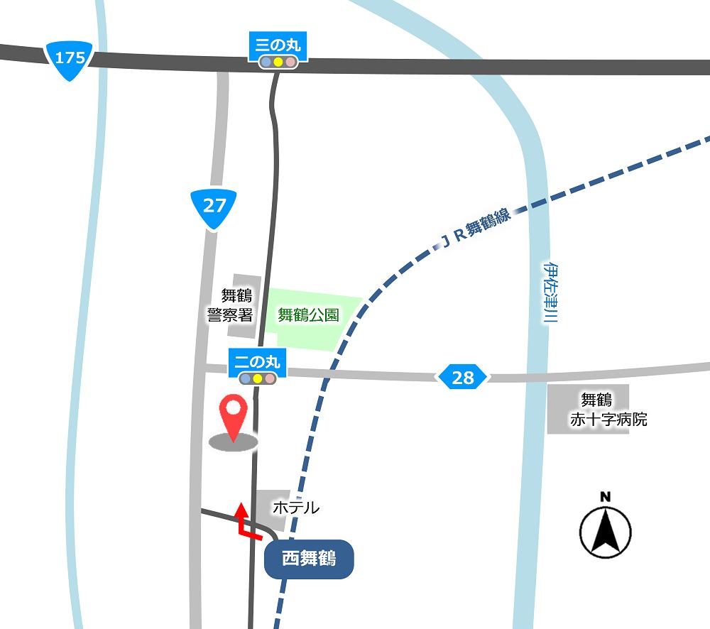 京都地方裁判所 舞鶴支部舞鶴簡易裁判所   裁判所