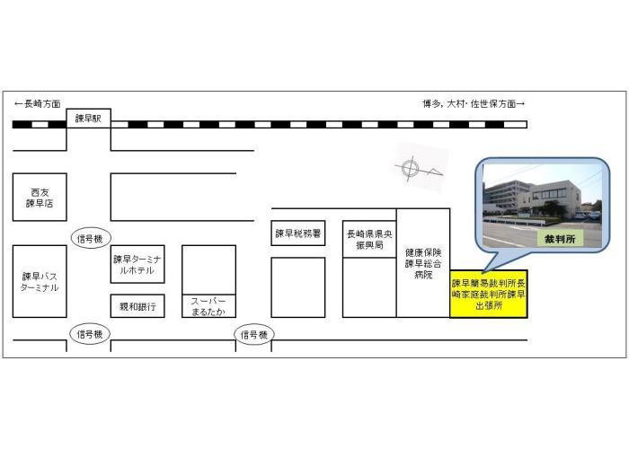 市 諫早 番号 県 長崎 郵便